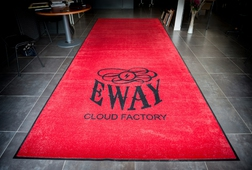 ENTRANCE MATTING SYSTEMS UK - PREMIUM LOGO MAT EWAY